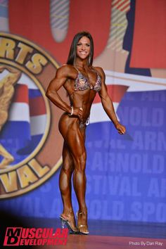 Oksana Grishina - Arnold Classic 2015