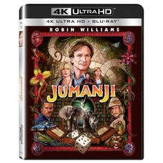 Buy Jumanji - Ultra HD (Includes Blu-ray) from Zavvi, the home of pop culture. Take advantage of great prices on Blu-ray, merchandise, games, clothing and more! Bonnie Hunter, Kirsten Dunst, Robin Williams Jumanji, Jumanji 1995, Jumanji Board Game, Joe Johnston, Classic Board Games, The Expendables, Welcome To The Jungle