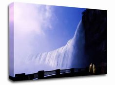 Niagra Falls landscape canvas from only £19.99 at Infusion Art http://www.infusionart.co.uk/products/Niagra-Falls-259590.aspx