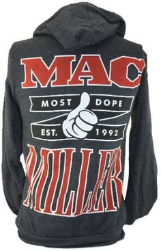 Mac Miller Most Dope gray hoodie....oh I wish they had this in my size :(