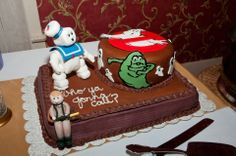 Ghostbusters cake!!!