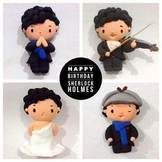 Cumbercupcakes Happy birthday Sherlock!!!