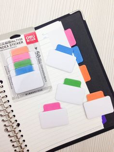 Image of Sticky Notes : Deli Index Tabs