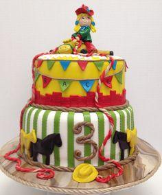 Cowgirl Cake.  CakeSuppliesDepot.com