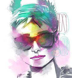 Ilustração :: A criatividade digital de Felipe Frizon