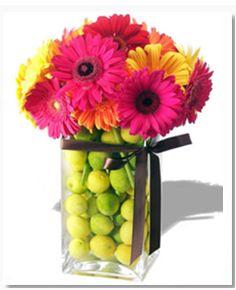 1000 images about arreglos florales on pinterest mesas for Centros de mesa con frutas