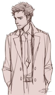 Cas doodle by dorodraws.tumblr.com