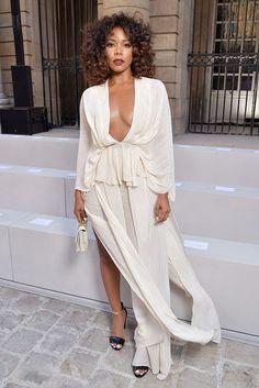 "soph-okonedo: "" Gabrielle Union attends the Berluti Menswear Spring/Summer 2018 show as part of Paris Fashion Week on June 23, 2017 in Paris, France """