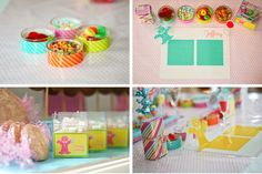 Adorable Candyland party ideas from Anders and Ruff!    http://www.andersruff.com/custom-printable-parties/birthday-parties/grayces-candyland-birthday-party/