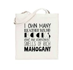 Ron Burgundy  Anchorman  Quote  Canvas Tote Bag by gnarlyink