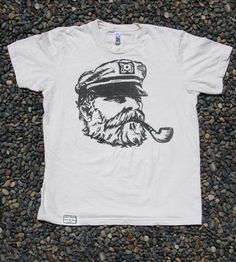 Natural Old Sea Captain T-Shirt | Women's Clothing | Irontree Clothing | Scoutmob Shoppe | Product Detail