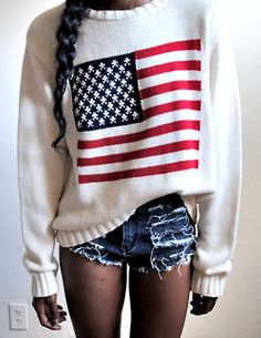 Actually want this sweater...AMURICA