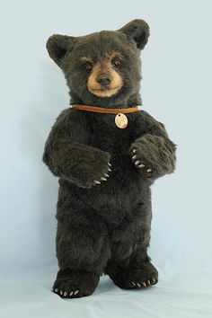 Realistic Style Teddy Bear, Joanne Livingston Desertmountainbear
