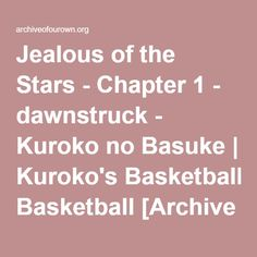 Everything gets a little weird when Kise and Kagami suddenly start dating. Kuroko's Basketball, Kuroko No Basket, Suddenly, Jealous, It Works, Weird, Dating, Stars, Quotes