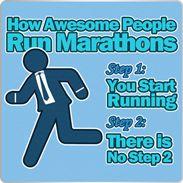The Barney Stinson Marathon Training Plan :-)
