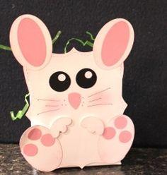 Cute little Easter basket @ lisastamps.com