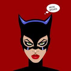 Catwoman byMira Dyachenko
