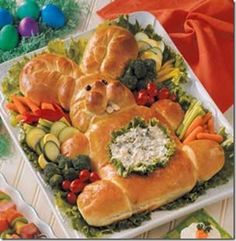 One of the things im making for Easter!! Easter Bunny Bread Recipe