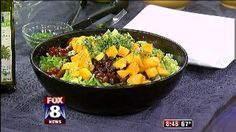 Fox 8 Recipe Box: Mango, Avocado & Black Bean Salad with Lime Dressing New Recipes, Whole Food Recipes, Healthy Recipes, B Food, Good Food, Lime Dressing, Complete Recipe, Whole Foods Market, Bean Salad