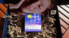 Mihaela Testfamily: Garnier Miracle Sleeping Cream im Test - schlaf Dich schön #garnier #garnierdeutschland #MizellenWasser