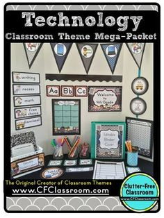 44 best technology classroom theme ideas and decor images