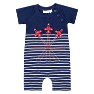Red arrows romper -Jojo maman Bebe