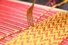 How to Weave on a Cardboard Loom with Lion Brand! / Lion Brand Notebook - Lion Brand Yarn