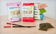 Regular or Supersized SeaSnax Gluten-Free Vegan Seaweed-Snack Bundle (Up to 53% Off)