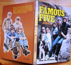 1982 - FAMOUS FIVE ANNUAL(Five On Kirran Island Again)Enid Blyton (Purnell)