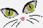 Thrilling Designing Your Own Cross Stitch Embroidery Patterns Ideas. Exhilarating Designing Your Own Cross Stitch Embroidery Patterns Ideas. Cat Cross Stitches, Cross Stitching, Cross Stitch Embroidery, Paper Embroidery, Cross Stitch Cards, Cross Stitch Animals, Cross Stitch Designs, Cross Stitch Patterns, Loom Patterns
