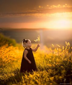 Fall's First Light by Jake Olson - Children Photography by Jake Olson <3 <3