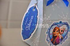 Tag personalizado, festa Frozen