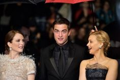 Julianne Moore, Rob, and Sarah Gadon at the Map to the Stars premiere at Cannes, 5-19-14 (7)