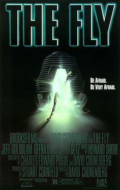 THE FLY, Directed and co-written by David Cronenberg. Released in 1986. #CronenbergEvolution
