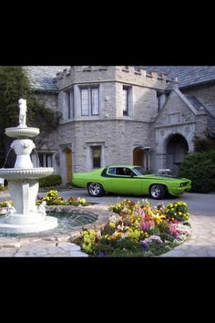70's muscle car