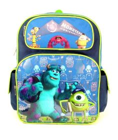 Monsters University Backpacks and Lunchboxes