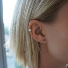 3.5mm Silver Ear Cuff / Australian Made by SarahGreenFineJewels