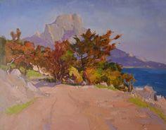 "Saatchi Art Artist Shandor Alexander; Painting, ""At the Laspi"" #art"