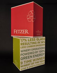 Fetzer Vineyards Wine Brown-Forman Shipper California