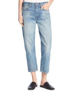 Vince Union Slouchy Denim Jeans