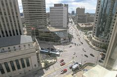 Argument for roundabout at Portage and Main - not bad, not convinced yet though