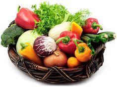 CSA Basket of fresh, organic produce Produce Baskets, Serving Bowls, Organic, Fresh, Vegetables, Tableware, Jamaica, Food, Food Items