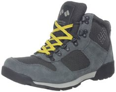 Columbia Mens Original Sierra Hiking BootBlackLight Grey13 M US * Click image to review more details.