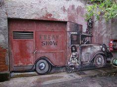 Borondo - Freak Show (Madrid) - Google Search