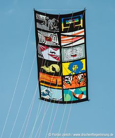 A traditional Japanese kite concept - dressed up with a slideshow of thoroughly modern images! T.P. (my-best-kite.com)
