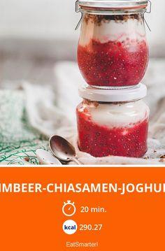 Himbeer-Chiasamen-Joghurt