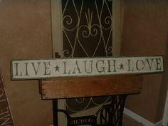 AMERICANPRIM PRIMITIVE HOW-TO'S: AGEING AND STENCILLING WOOD SIGNS