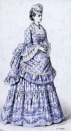 My First, First Bustle Era Dress!!  Huzzah....or Not?
