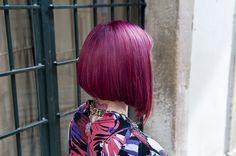 purple shades bob haircut   Flickr - Photo Sharing!