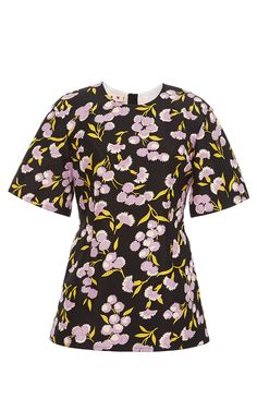 Sistowbell Floral Flared Top by MARNI for Preorder on Moda Operandi
